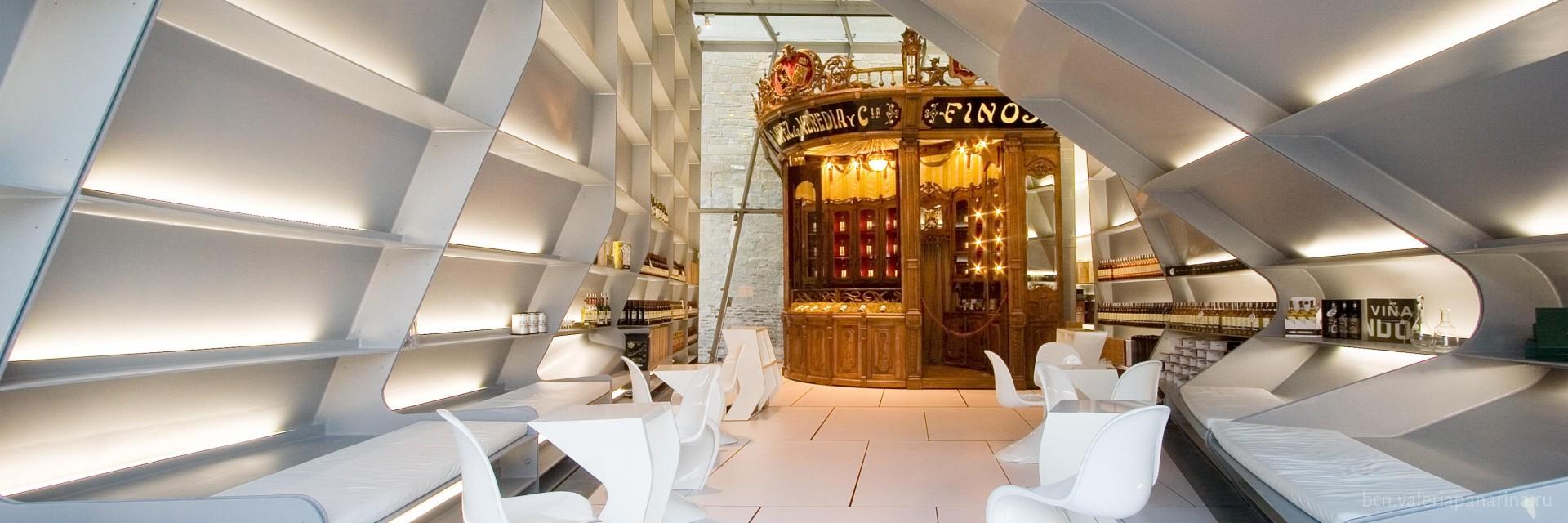 Ужин с интригой: нестандартные интерьеры испанских ресторанов