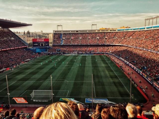 Фан зона большого испанского футбола